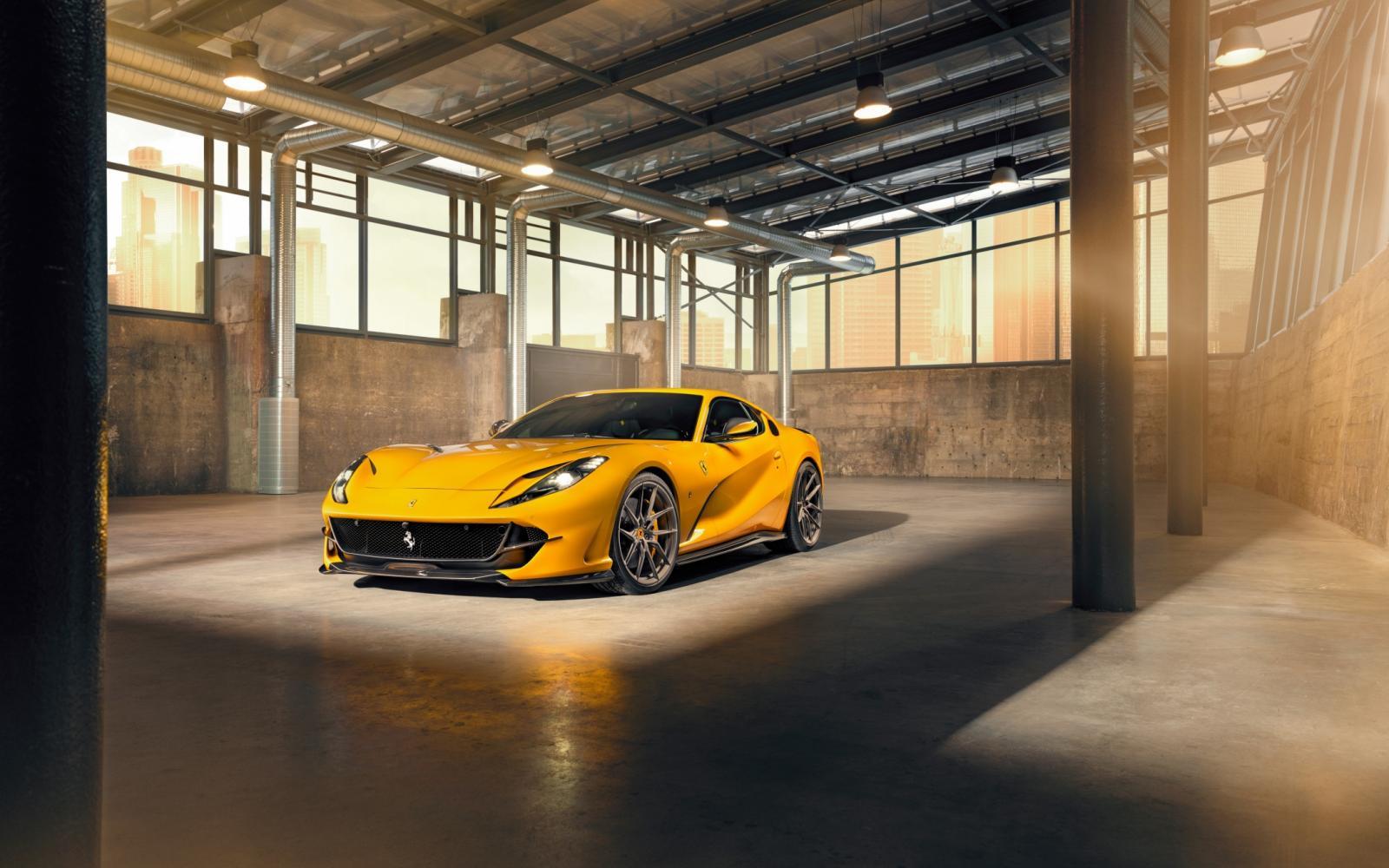 Waarom je je Ferrari 812 Superfast bij Novitec moet parkeren