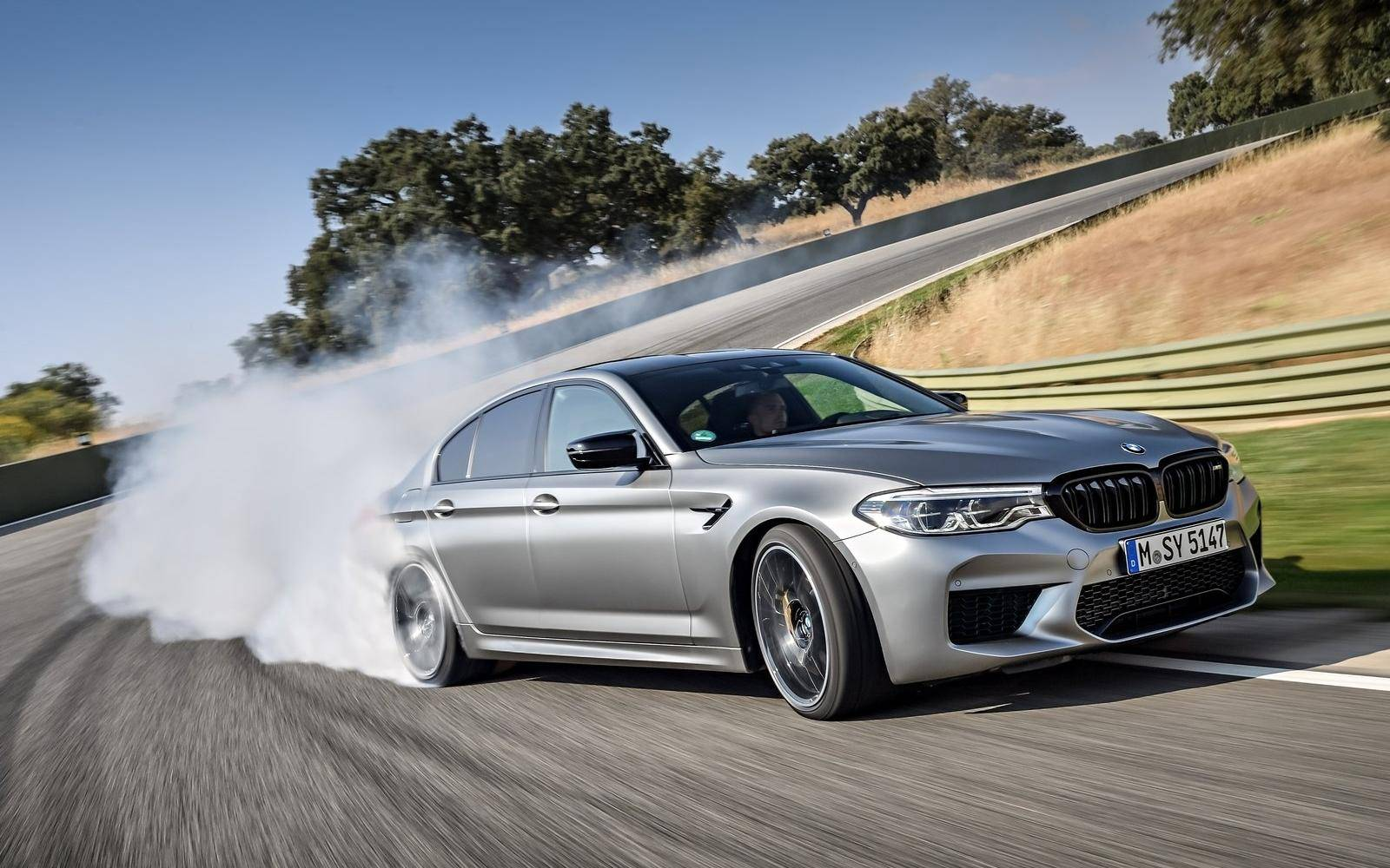 Test BMW M5 Competition