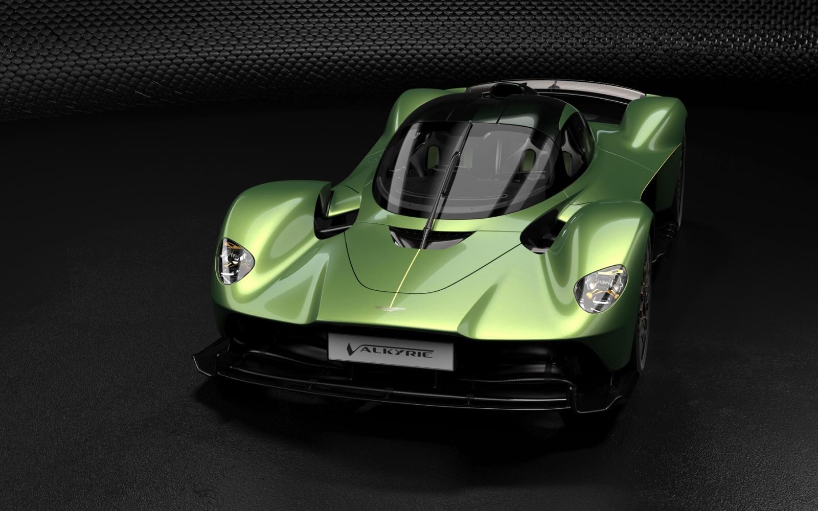 Buitenaardse Aston Martin Valkyrie heeft bijna 1200 pk