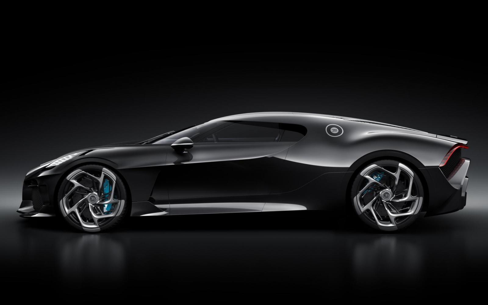 Bugatti La Voiture Noire: 16 cilinders, 8 liter, 1500 pk en 11 miljoen