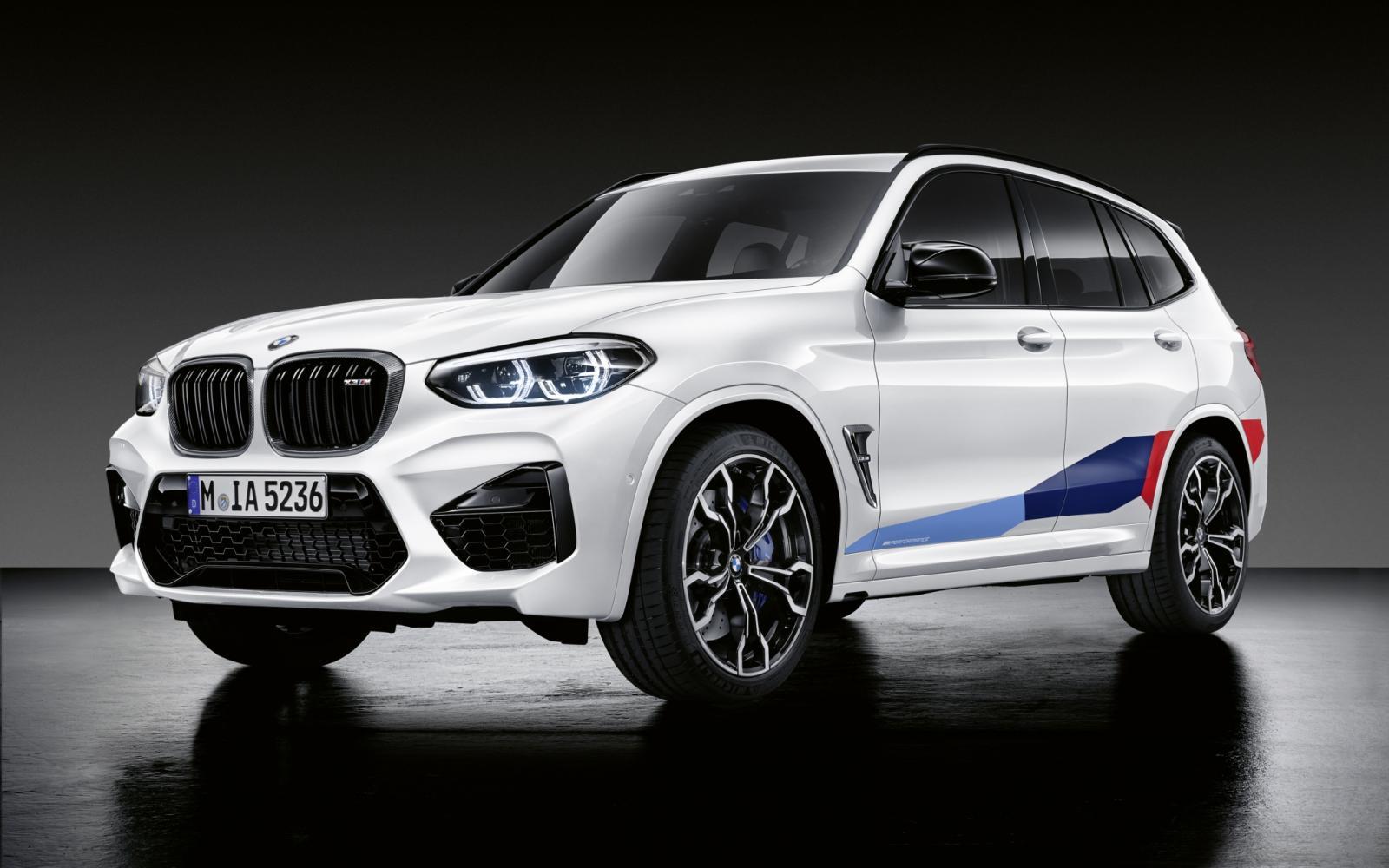 BMW X3 of X4 extra vet met lichtgewicht M Performance onderdelen