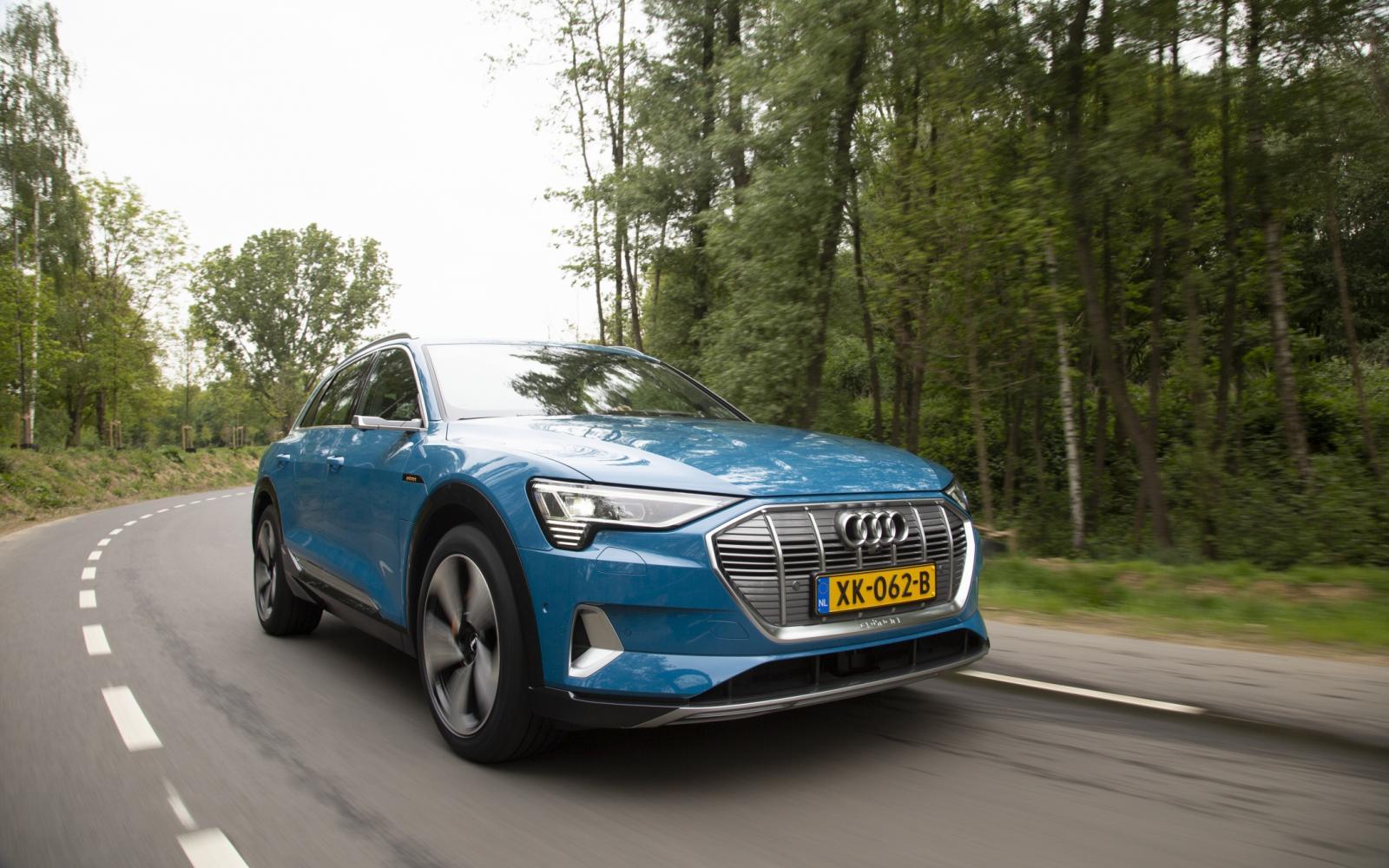 Test Audi e-tron: elektrische goedzak