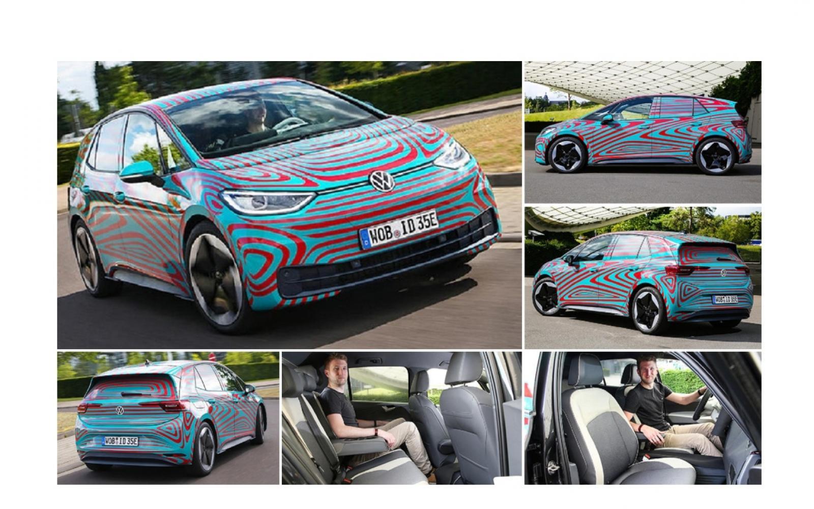 Zo rijdt de Volkswagen ID 3