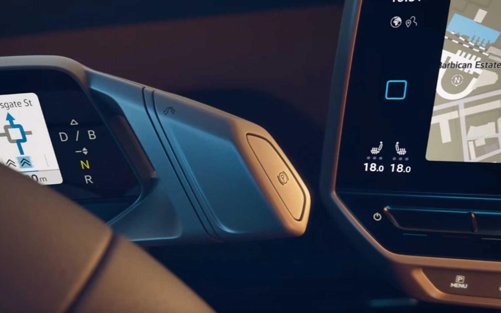 Zo ziet het dashboard van de Volkswagen ID.3 eruit