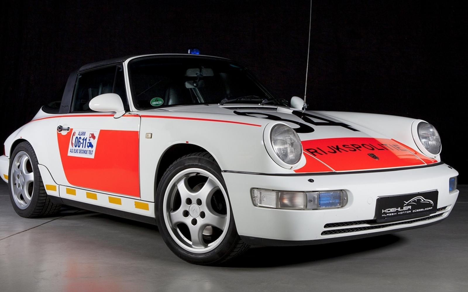 Originele politie Porsche 911 te koop!