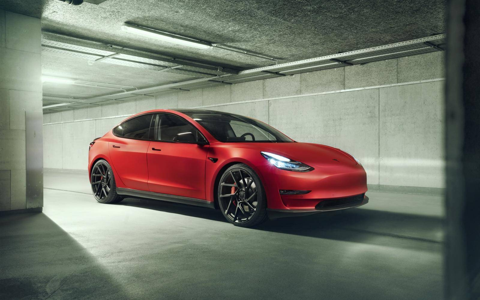 Novitec 'doet' de Tesla Model 3