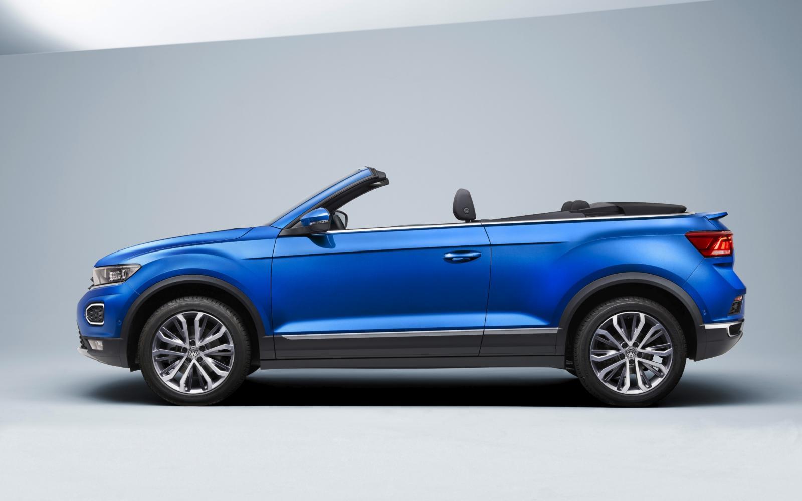 Zie jij jezelf al rijden met de Volkswagen T-Roc Cabriolet?