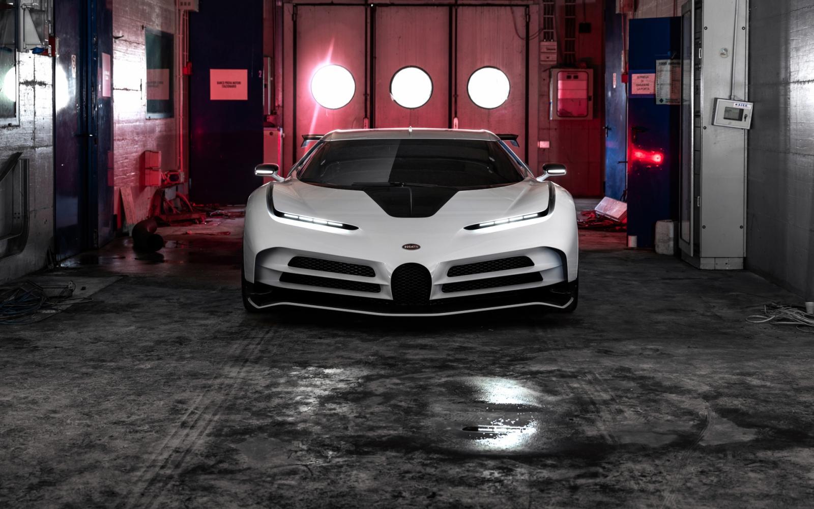 Bugatti Centodieci is sterker, maar langzamer dan een Chiron