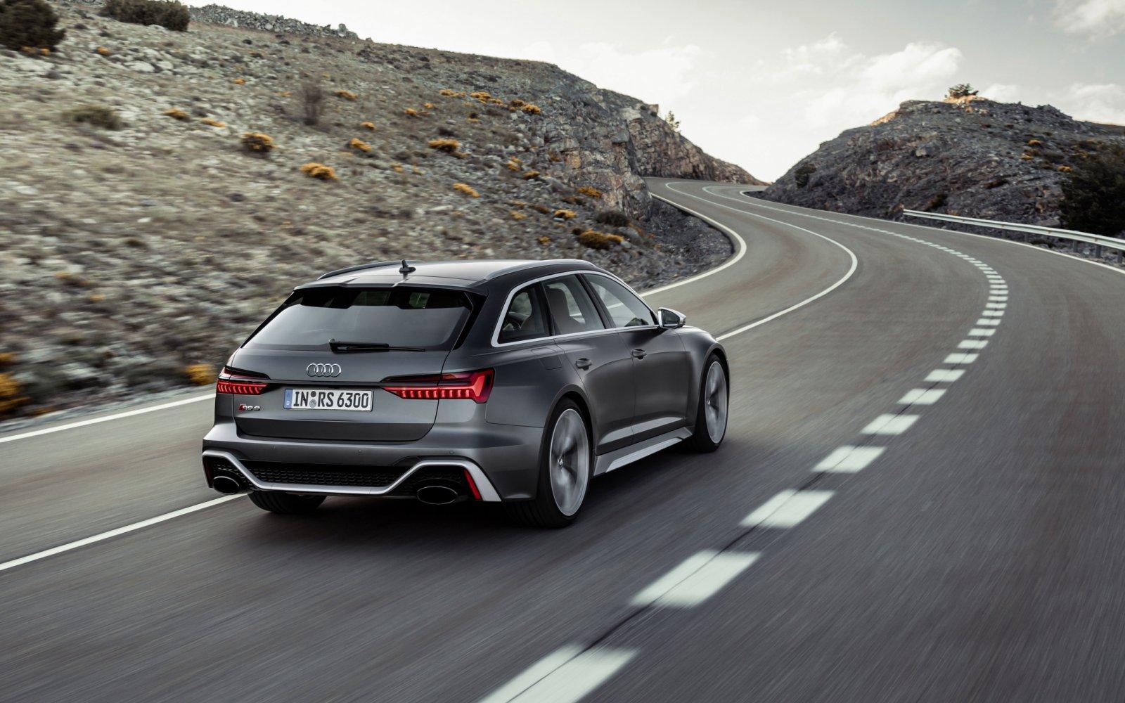 Some like it hot! De nieuwe Audi RS 6 Avant is een regelrechte 'power station'