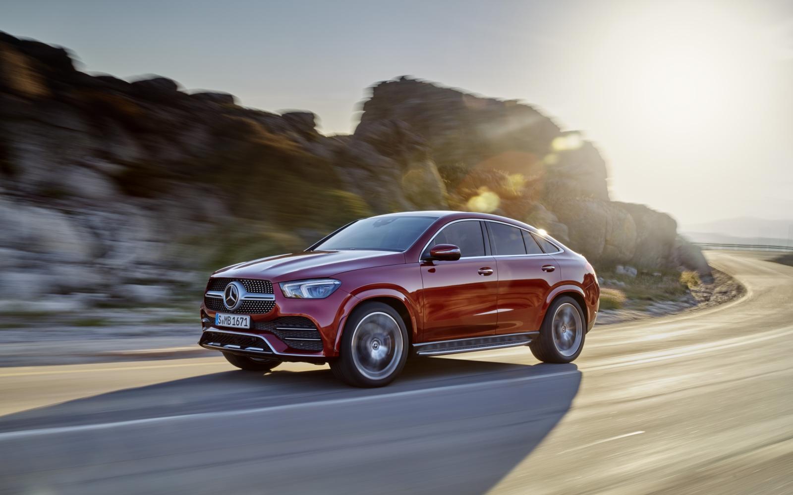 Mercedes Gle Coupe 2019 Gaat Bmw X6 Te Lijf Autowereld Com