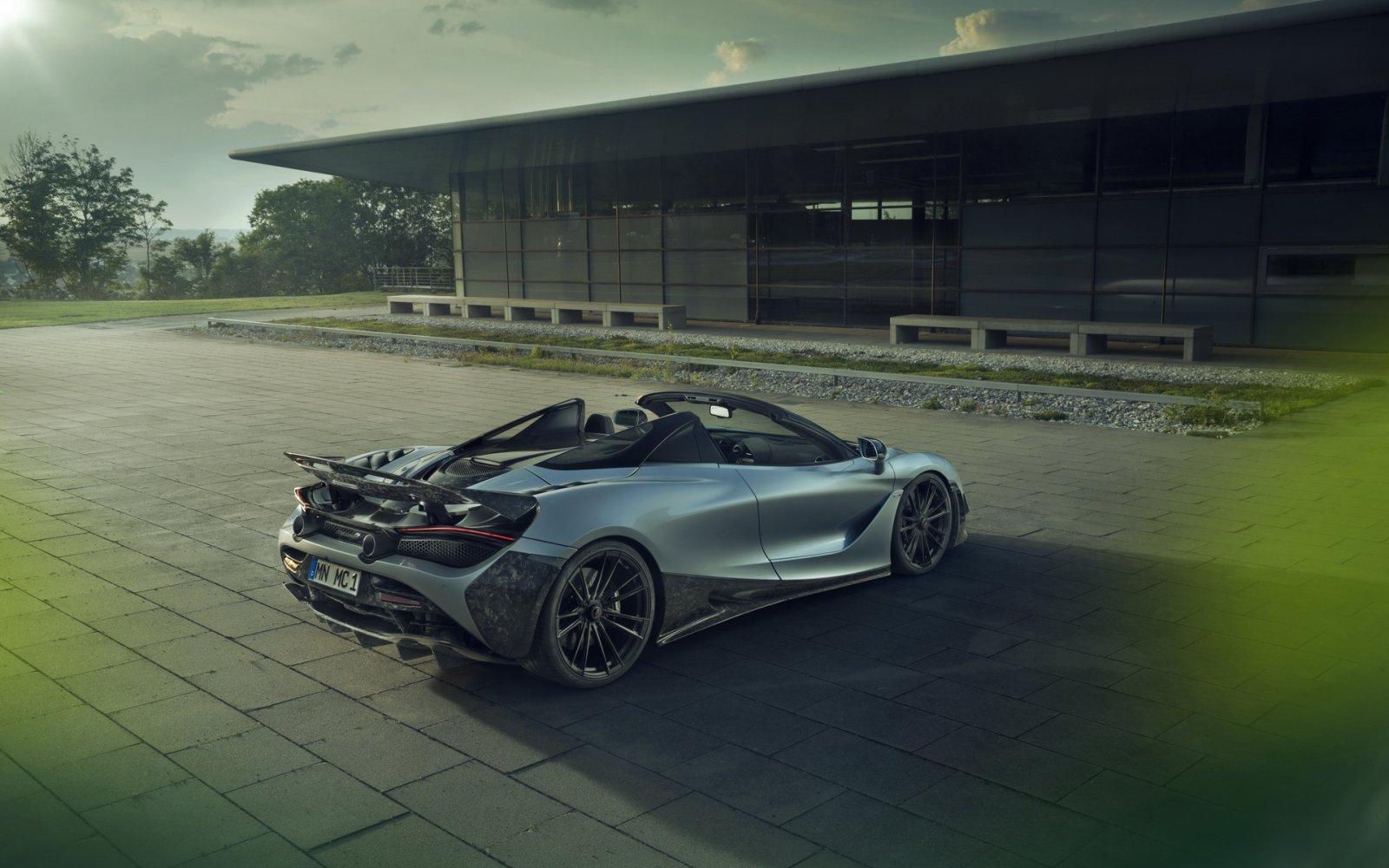 Zo'n McLaren 720S Spider is maar lafjes (vindt Novitec)