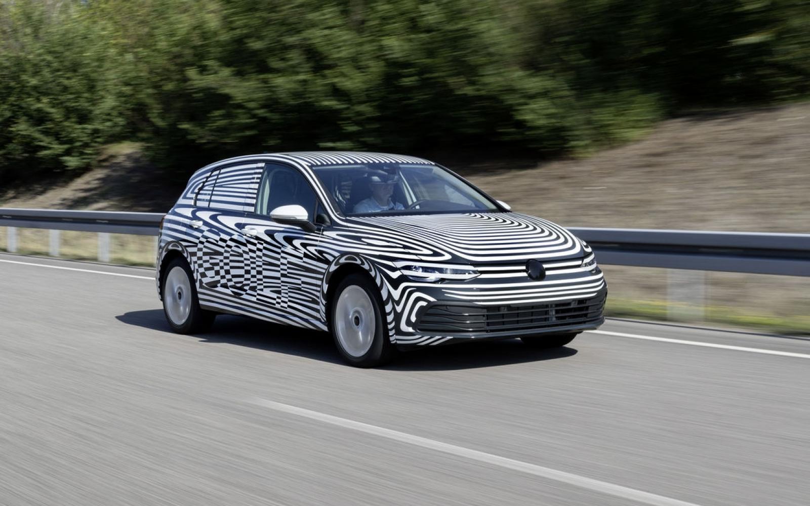 Nieuwe Golf: Volkswagen kan de spanning zelf ook niet aan