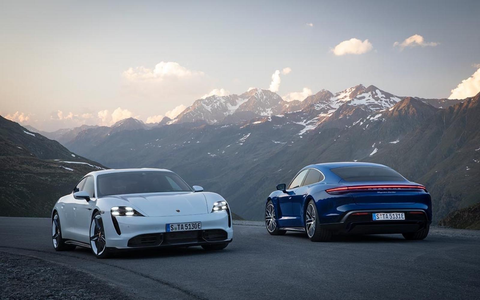 Elektrische Porsche Taycan is de Porsche 911 van de toekomst