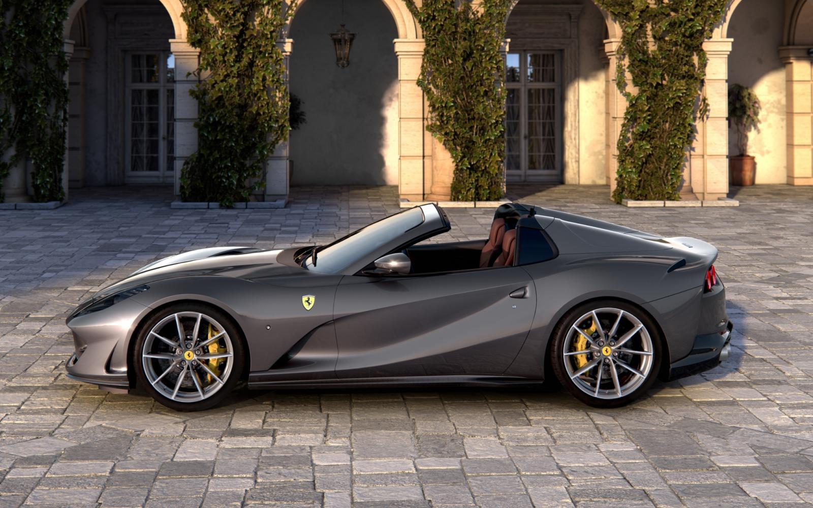 De open twaalfcilinder is terug: Ferrari 812 GTS