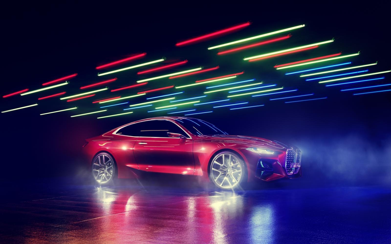 BMW Concept 4 ... Voorbode van nieuwe 4-Serie Coupé