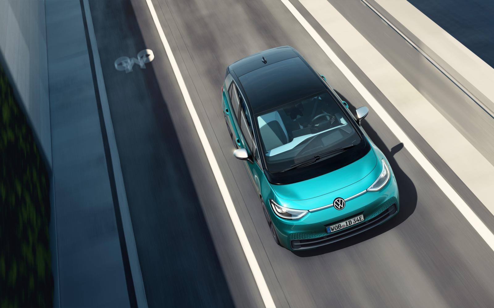 Bekijk de prijzen en uitvoeringen van de Volkswagen ID.3 1st
