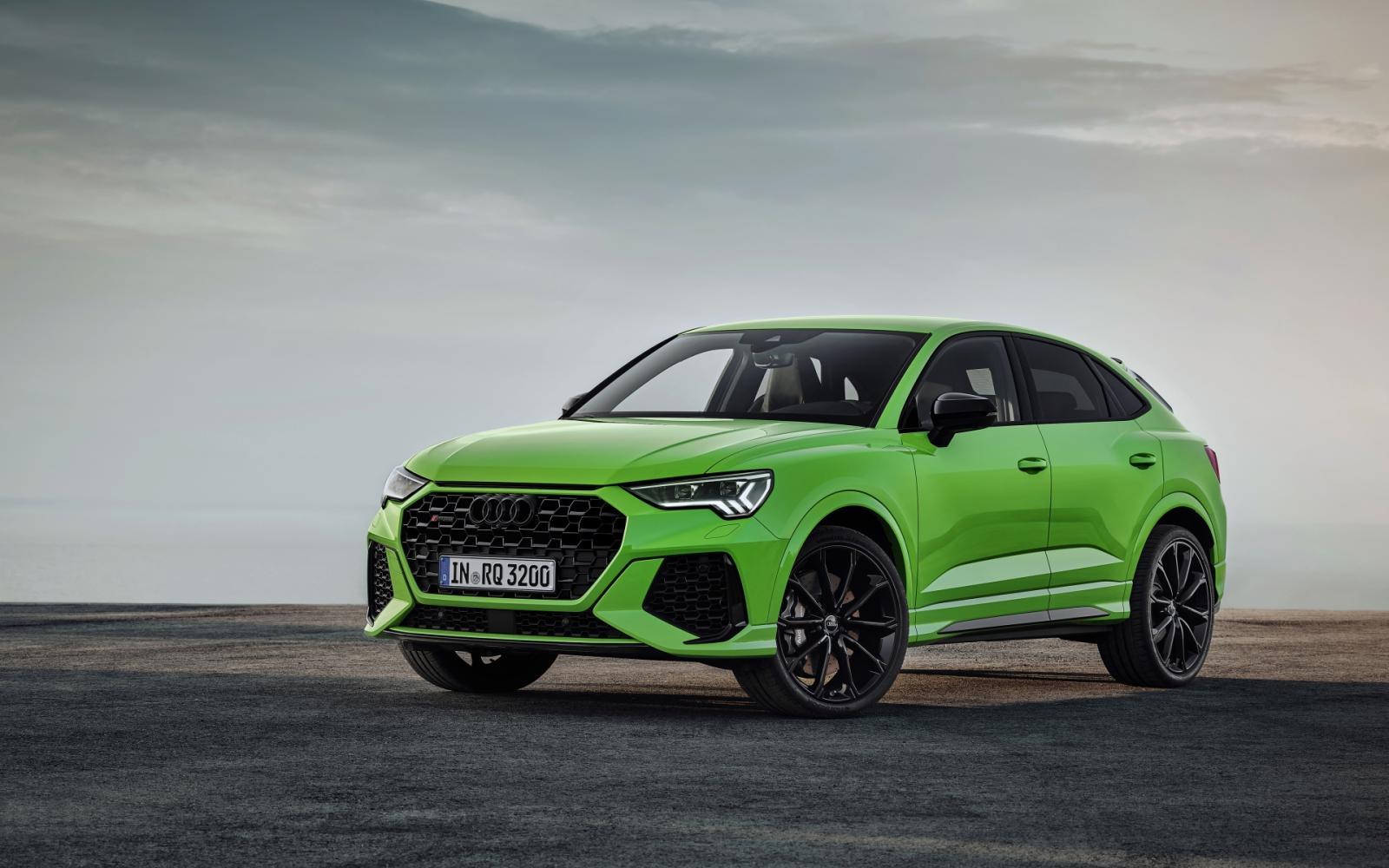 Audi RS Q3 en RS Q3 Sportback: Mooi groen is niet lelijk