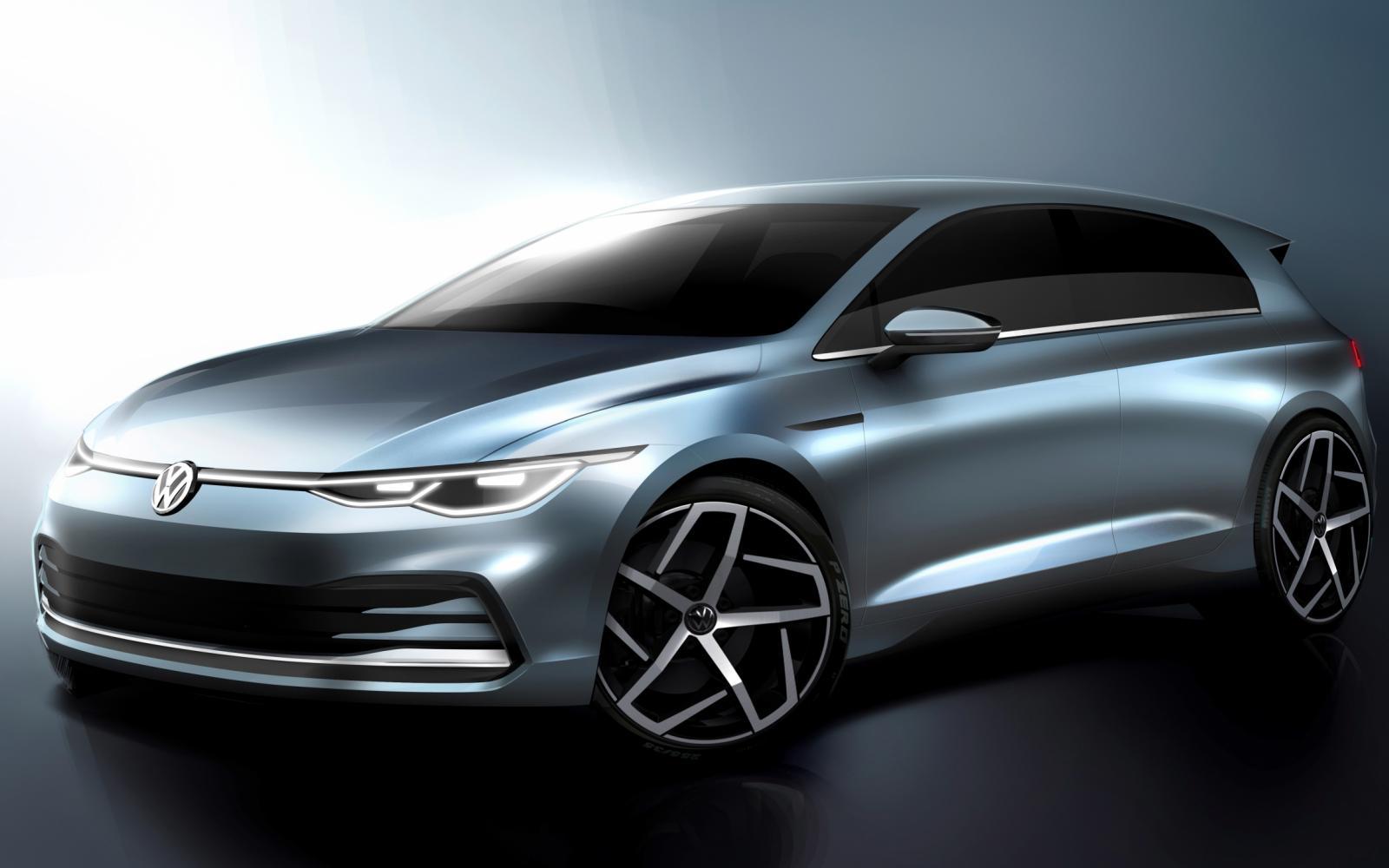 Wie houdt Volkswagen voor de gek met deze schetsen van de Golf 8?