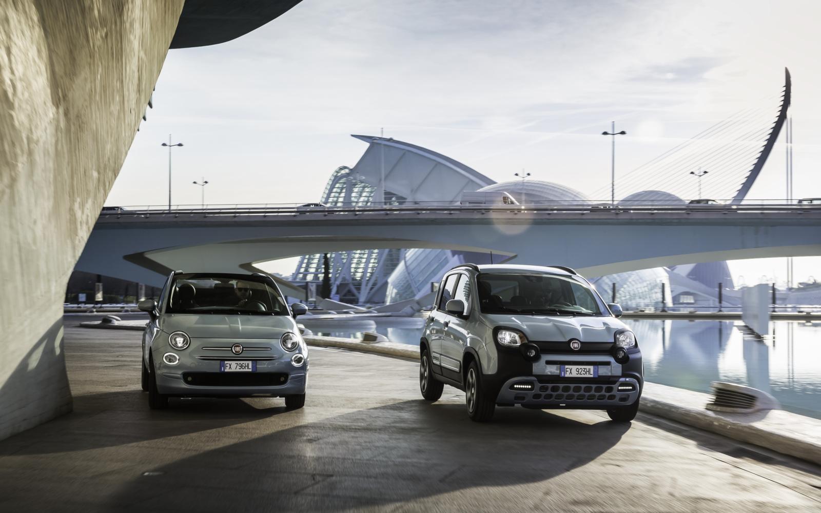 Fiat 500 en Panda Hybrid markeren start elektrificatie-offensief