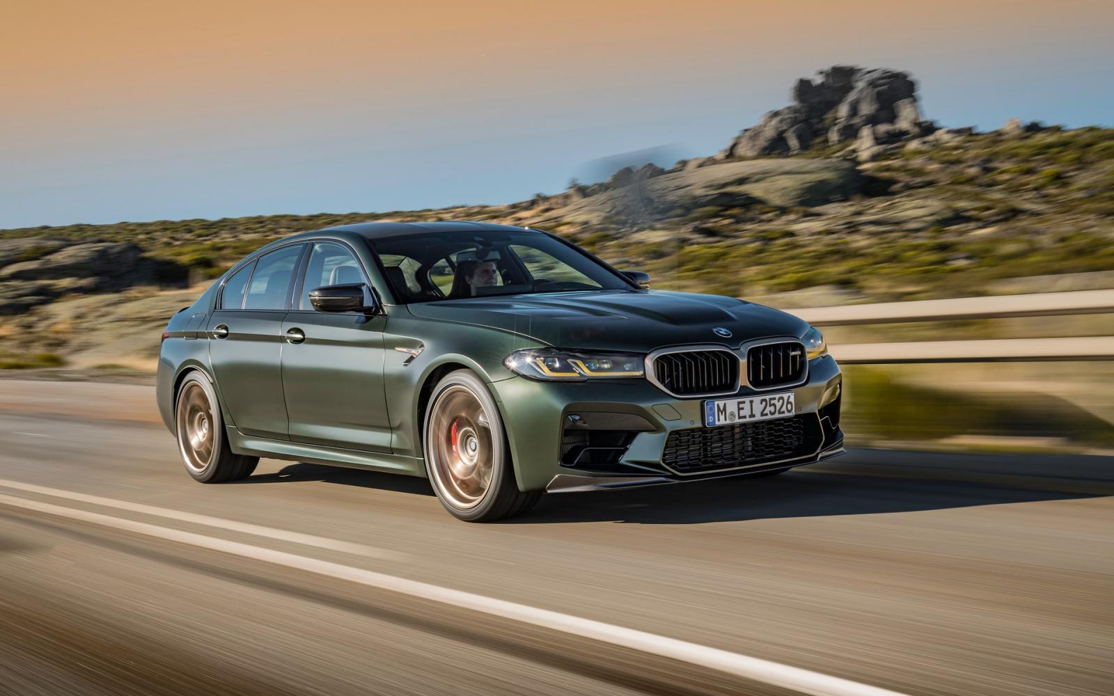 'Lichtgewicht' BMW M5 CS weegt nog altijd 1900 kilo