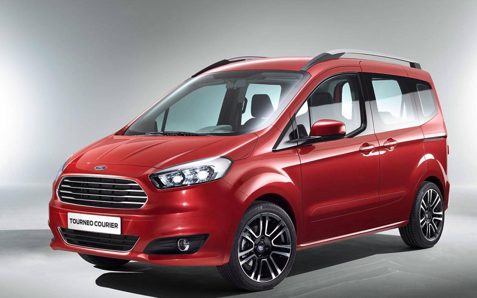 Ford Tourneo Courier Maakt Drietal Compleet Autowereld Com