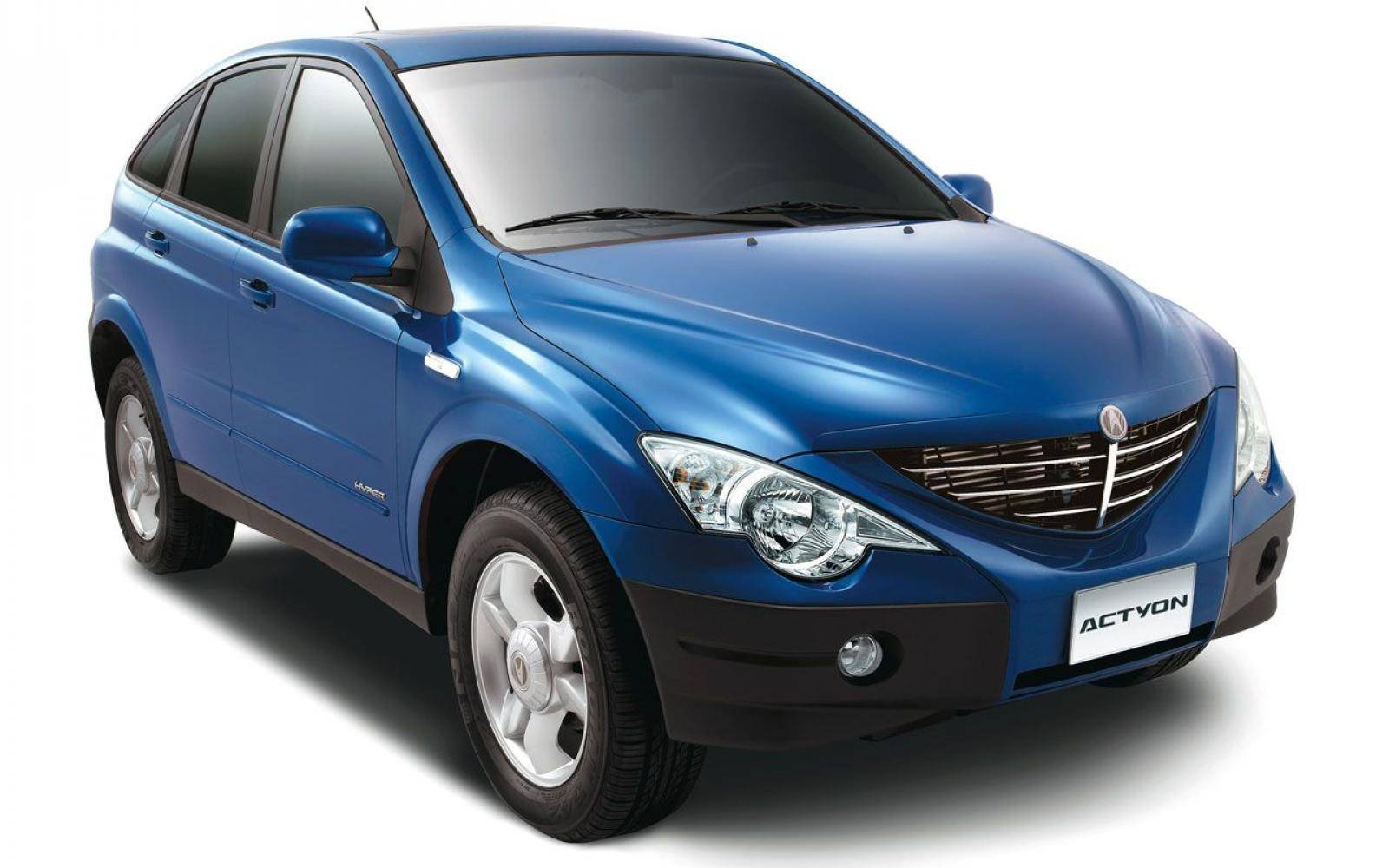 Compacte SsangYong SUV: Actyon