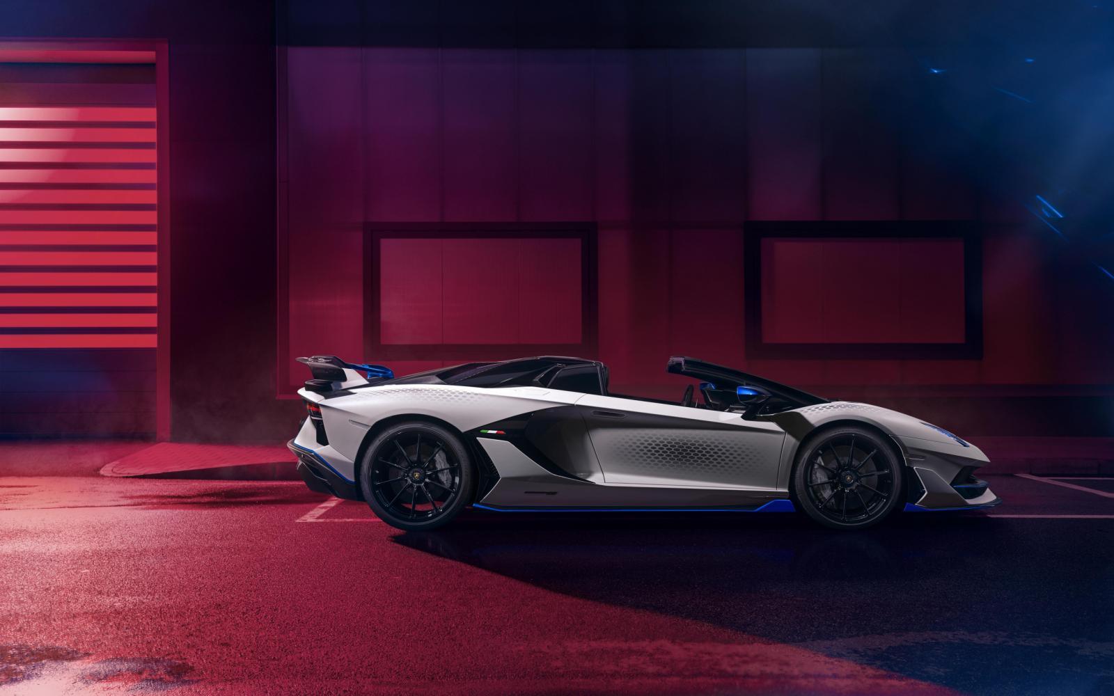 Lamborghini Aventador SVJ Xago houdt van honingraat