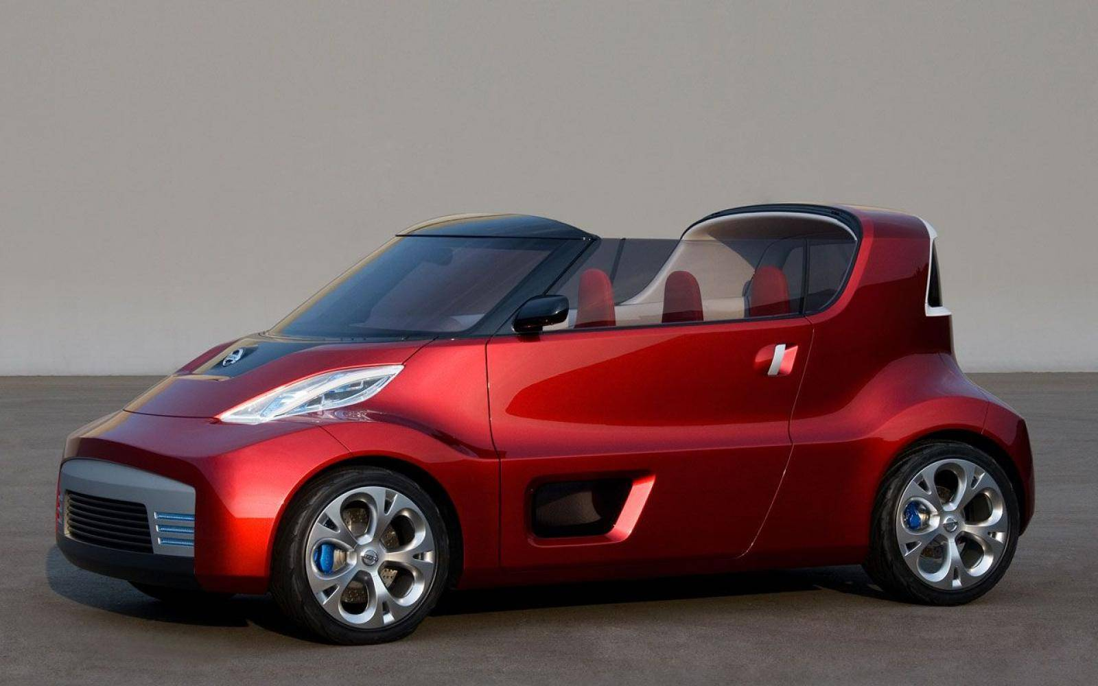 Nissan Round Box: hippe roadster