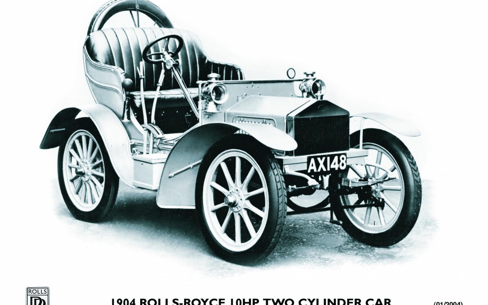 1904 Rolls-Royce met 10 pk