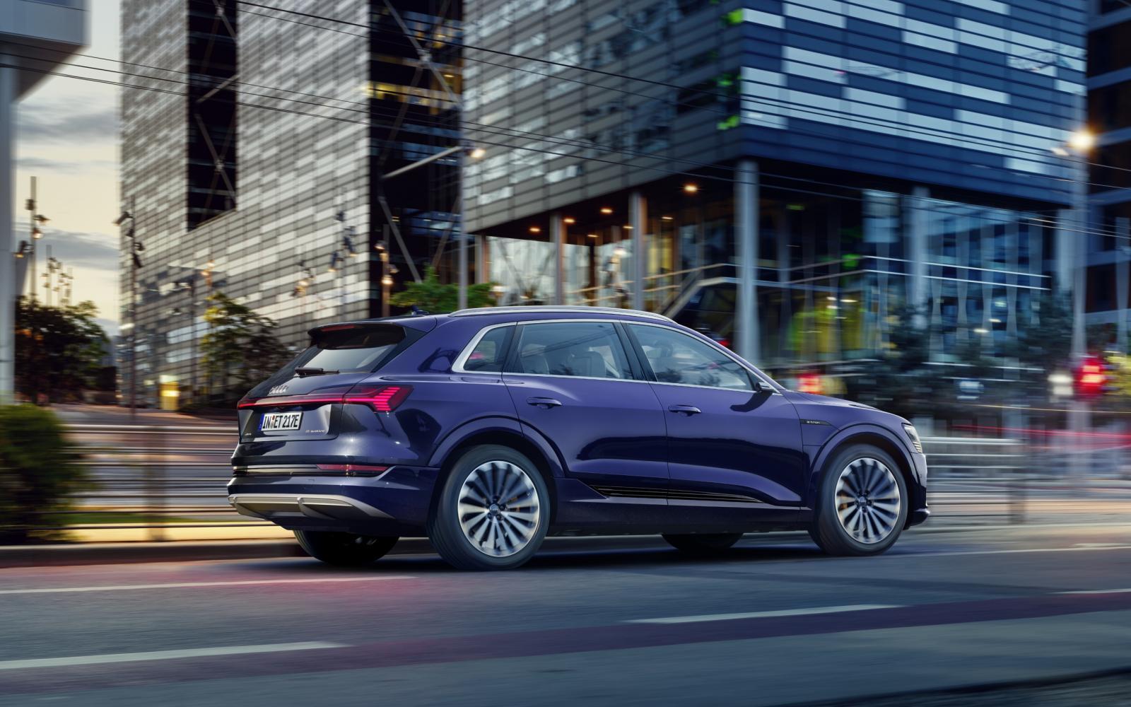 Technische update geeft Audi e-Tron 25 kilometer meer range