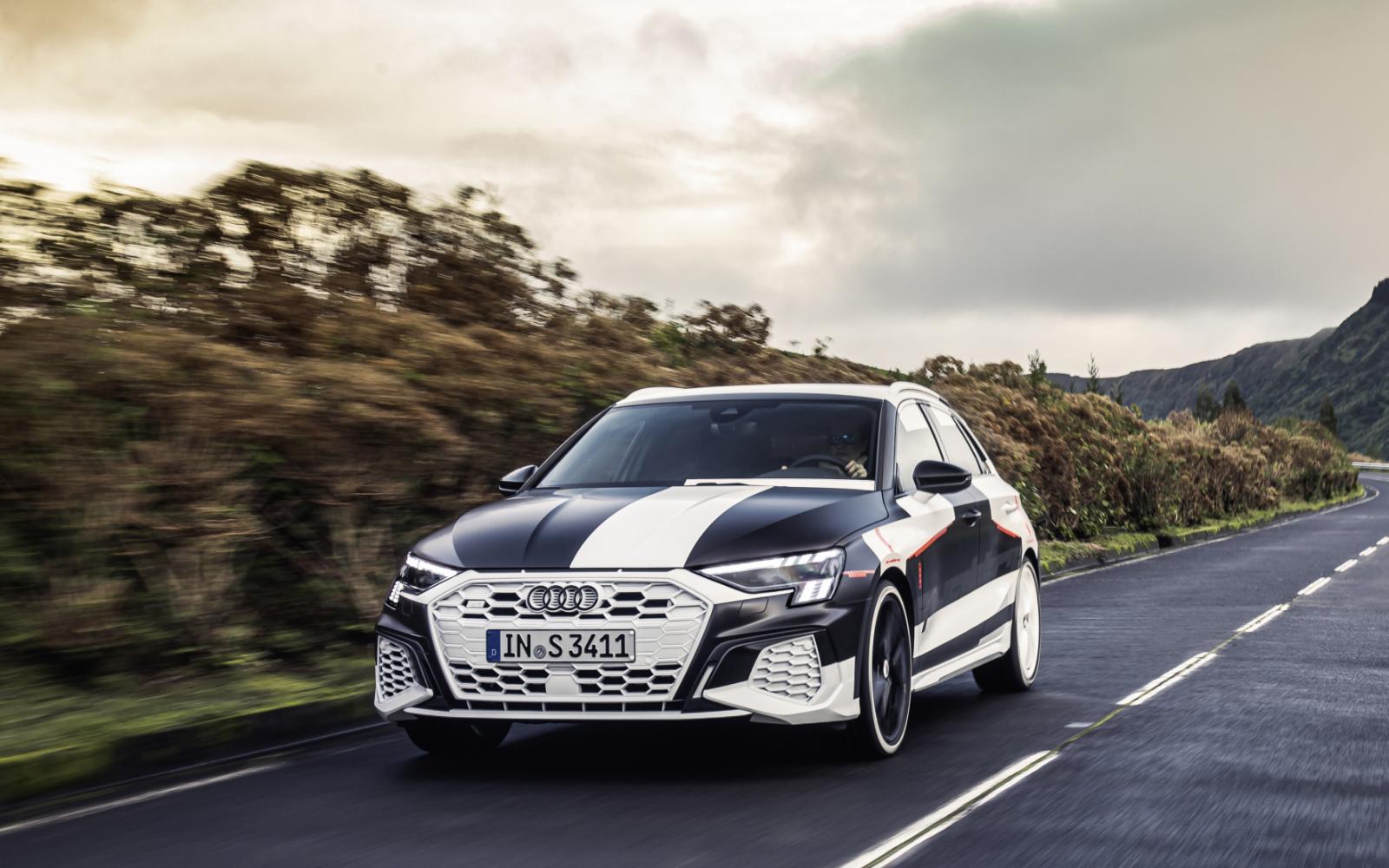 Nieuwe Audi A3 maakt zich op voor Genève