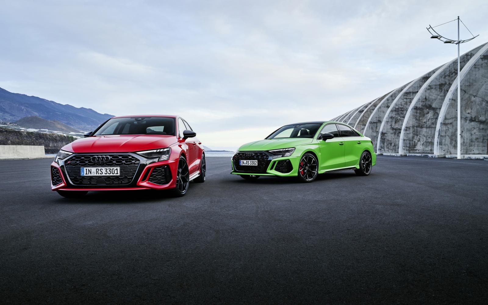 De nieuwe Audi RS 3: waarom de Mercedes-AMG A 45 S 4Matic+ peentjes kan gaan zweten