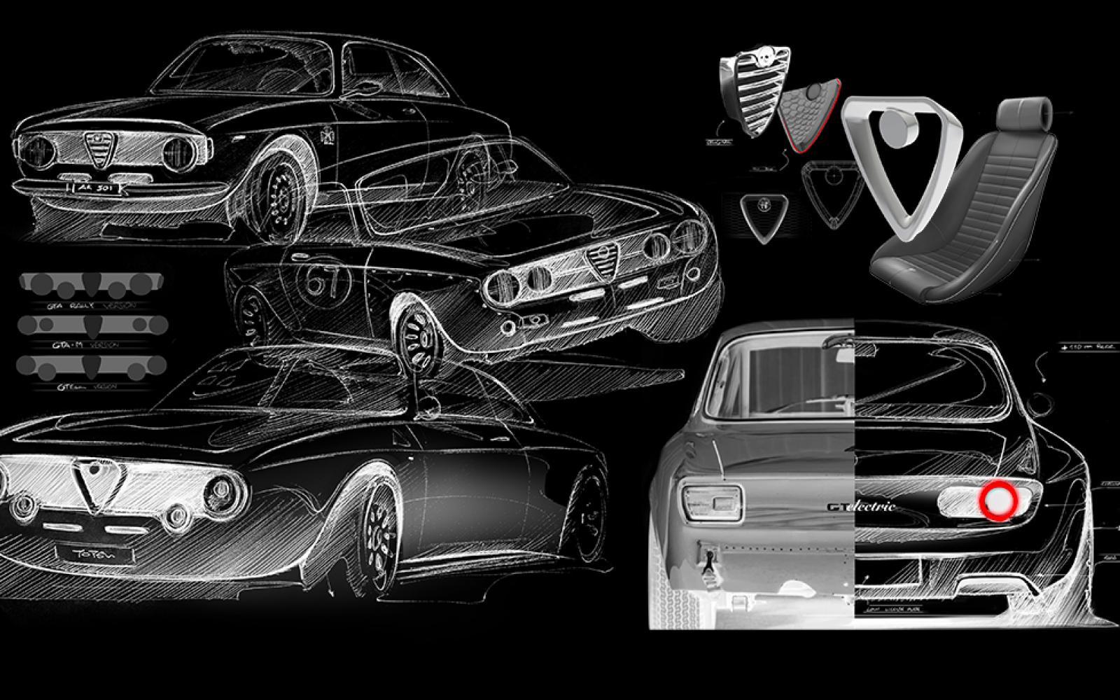 Alfa Romeo Giulia GT: dag dubbelnokker, hallo elektromotor