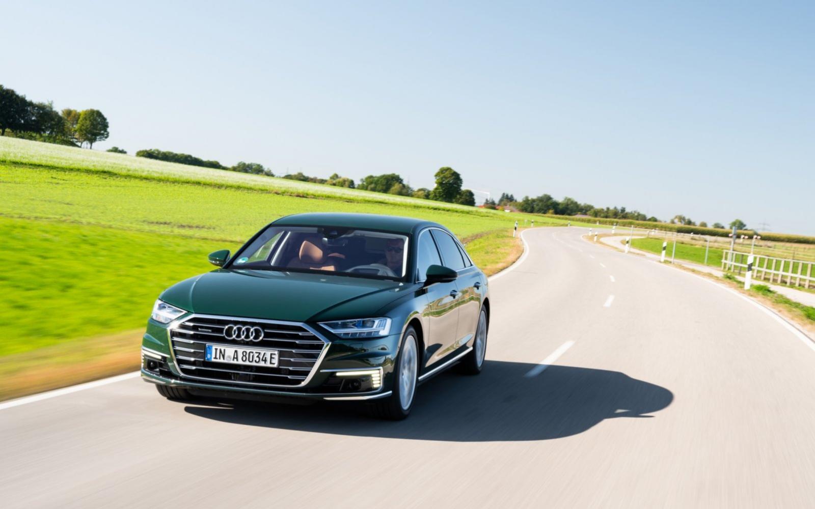 Audi A8 60 TFSI e deelt plug-in hybridetechniek met Bentley Bentayga
