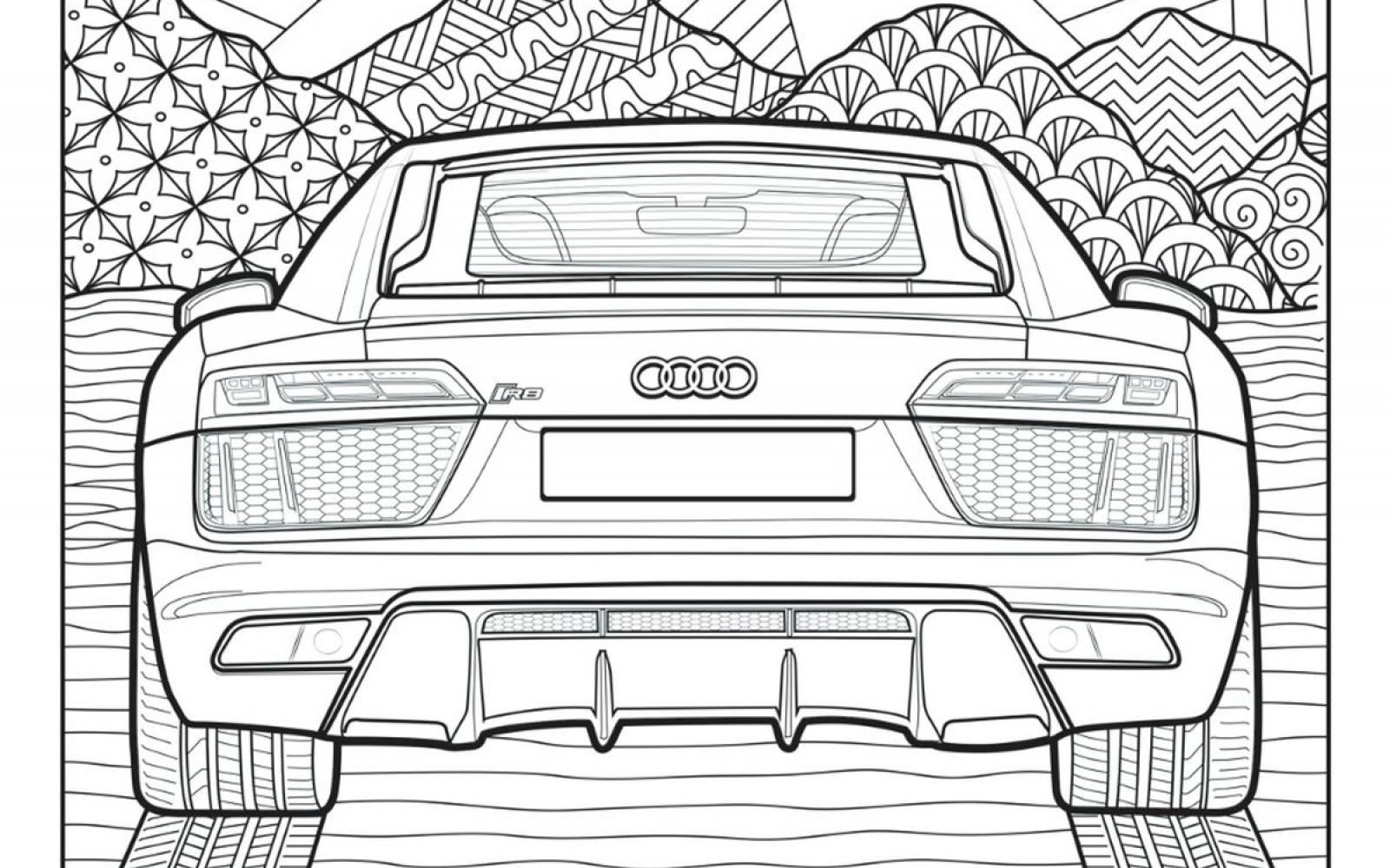 Pak aan! Audi gooit gratis kleurboek in de strijd tegen de verveling