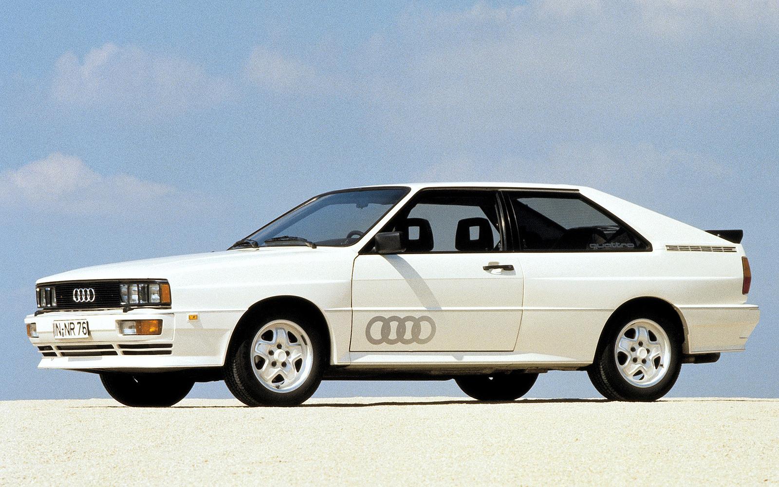 Wist jij dat de Audi Quattro een militaire afkomst heeft?