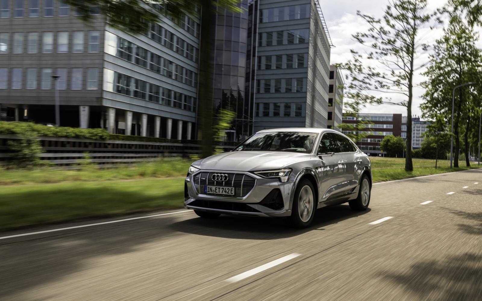 Eerste review: Audi E-Tron Sportback