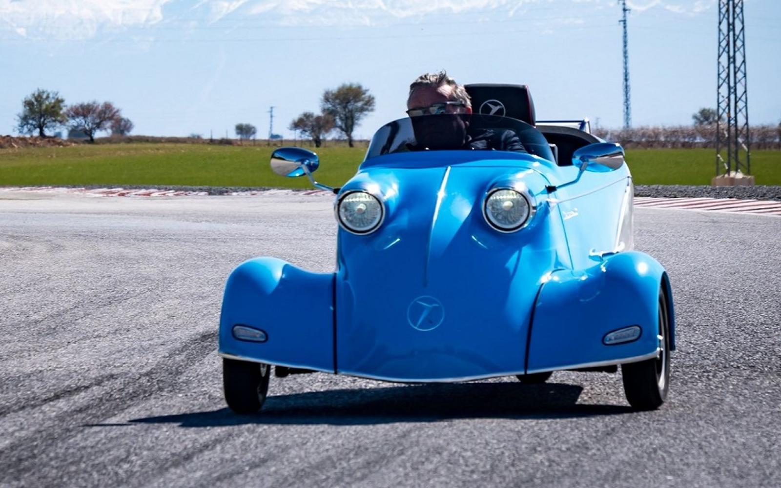 Voor 13.000 euro is deze nieuwe, elektrische Messerschmitt KR van jou