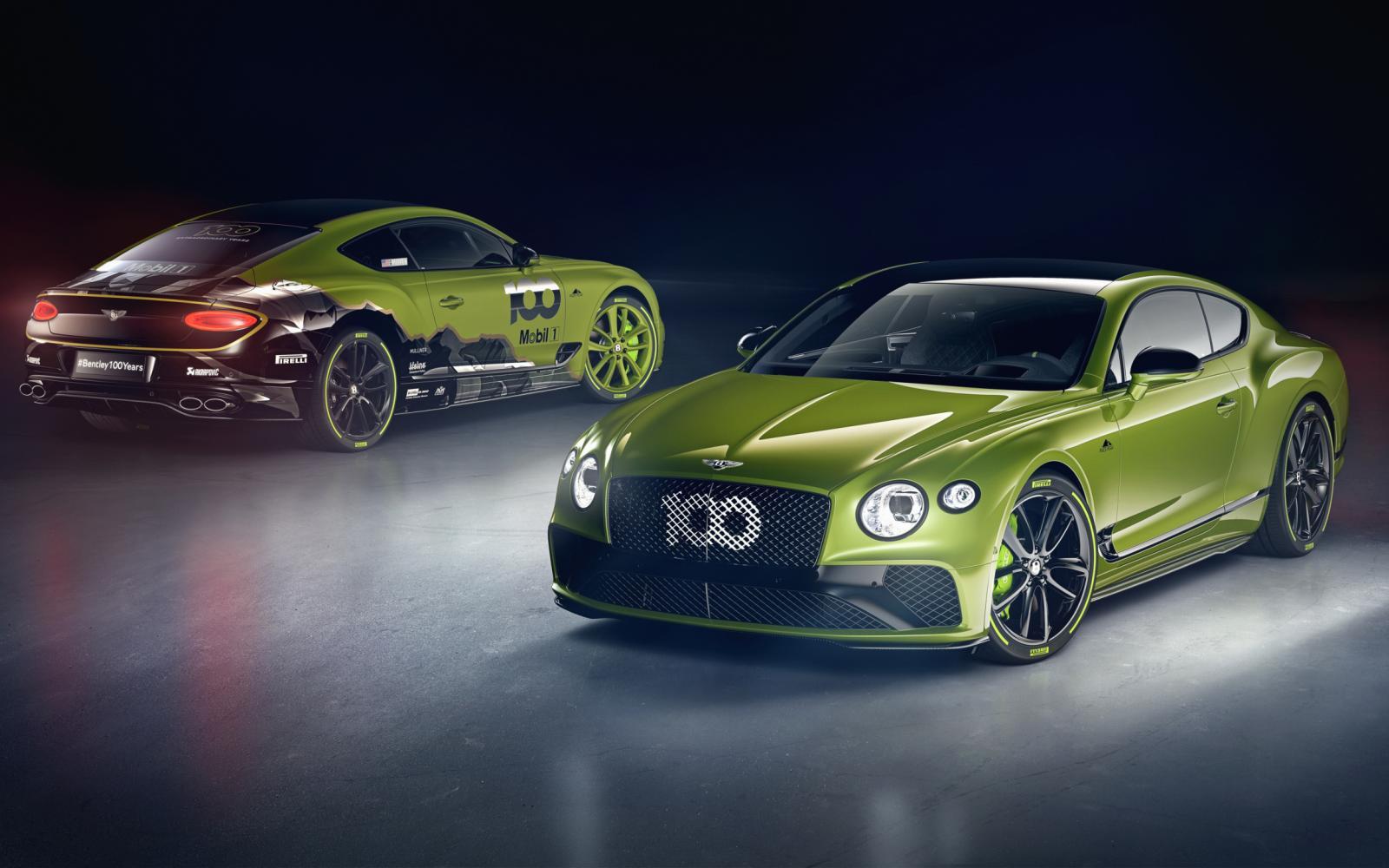 Bentley viert Pikes Peak-record met gelimiteerde Continental GT W12