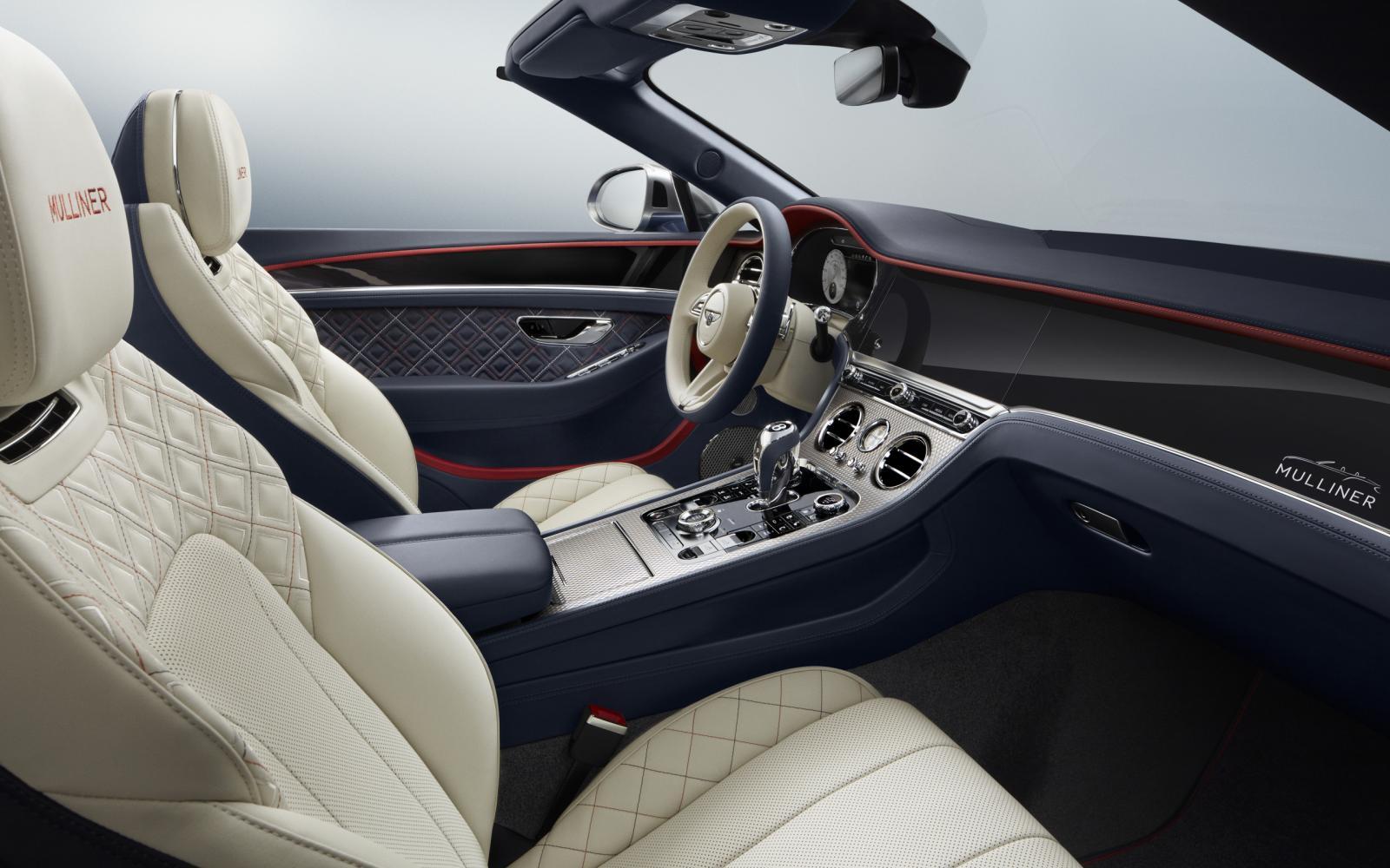 Deze Bentley Continental GT Mulliner heeft 400.000 stiksels aan boord!