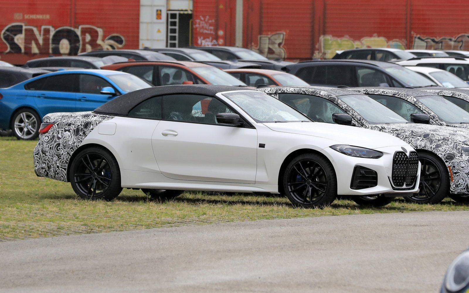 Nieuwe BMW 4-serie Cabriolet heeft een stoffen kap