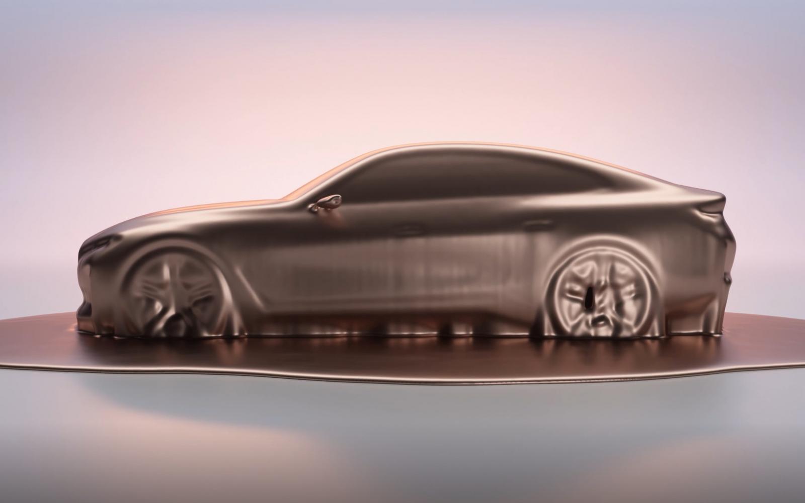 De BMW i4 wordt een elektrische 4-serie Gran Coupé ...