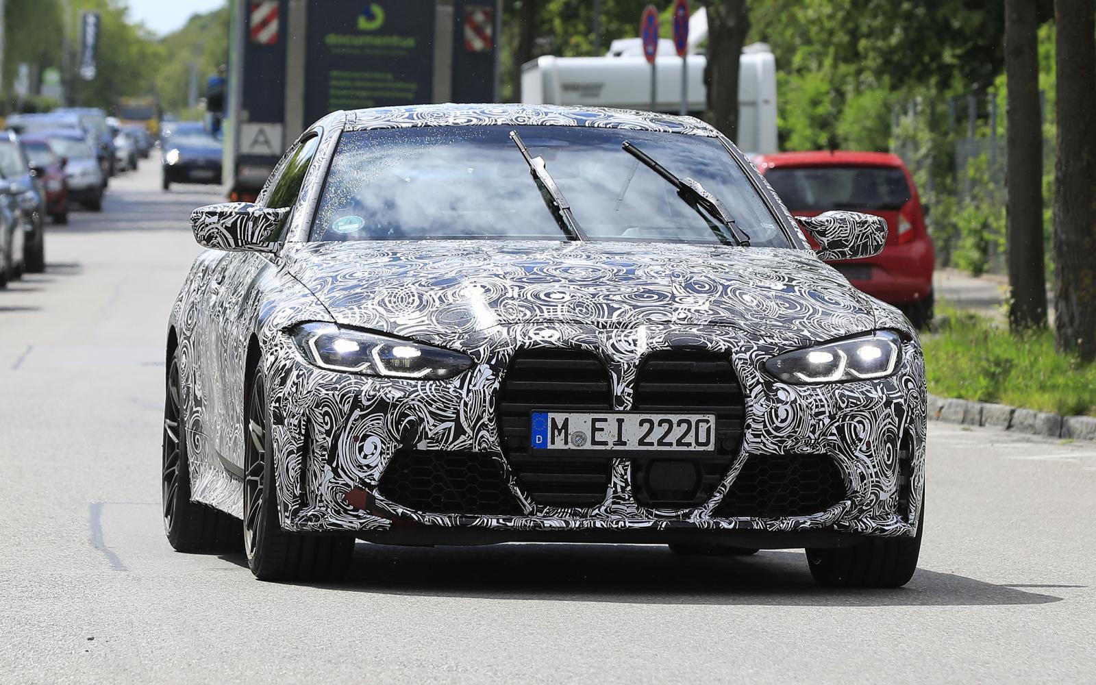 Aaaahhh!! De BMW M4 Coupé laat ons schrikken