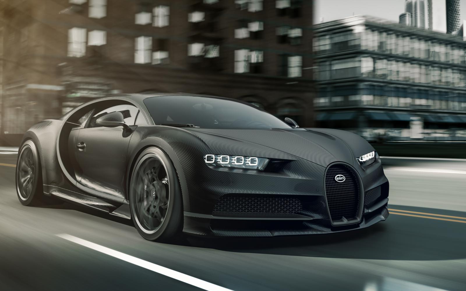 Bugatti Chiron Noire Élégance en Noire Sportive kosten 3 miljoen euro per stuk