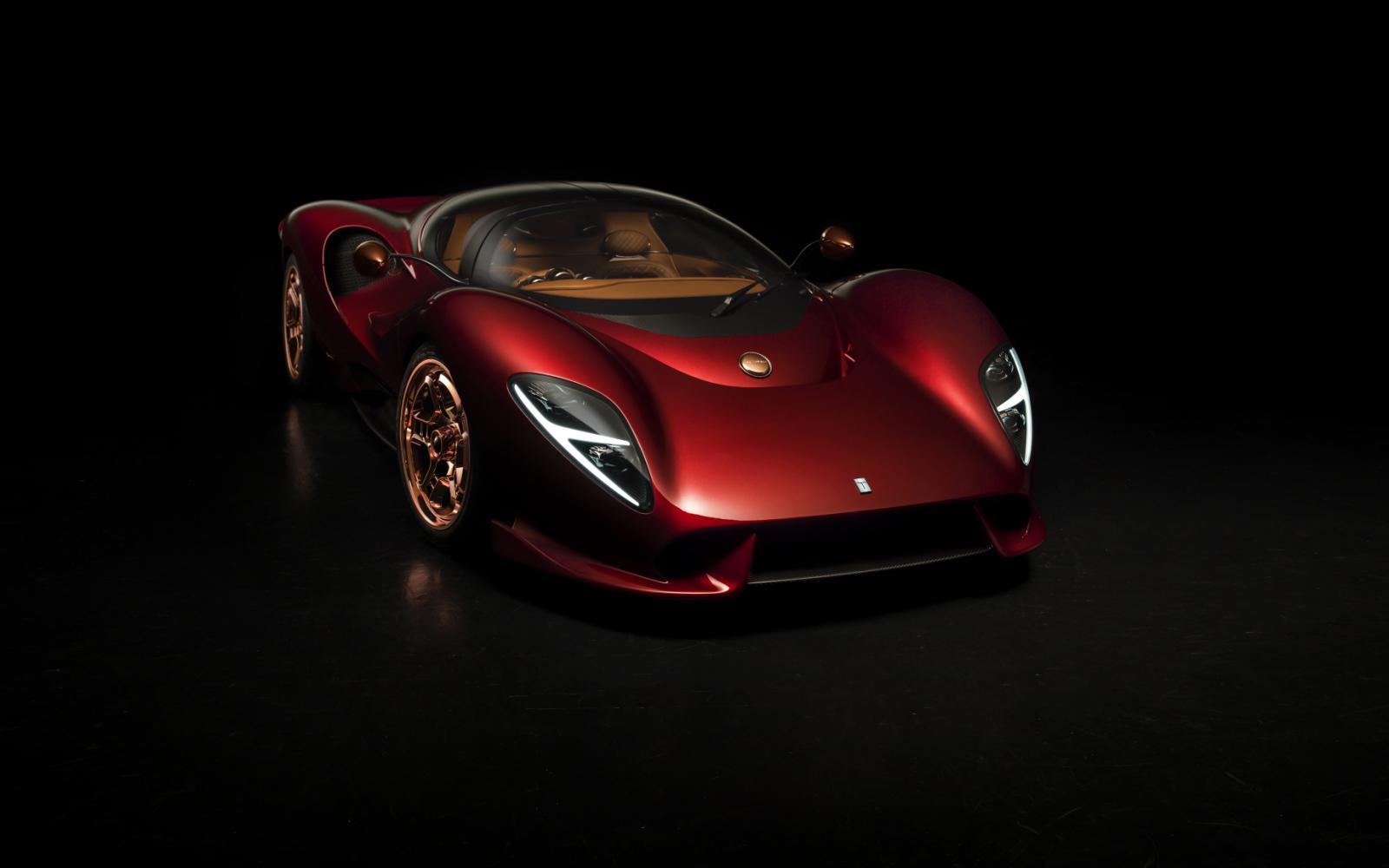 Naar goed gebruik: De Tomaso P72 krijgt supercharged V8 van Ford