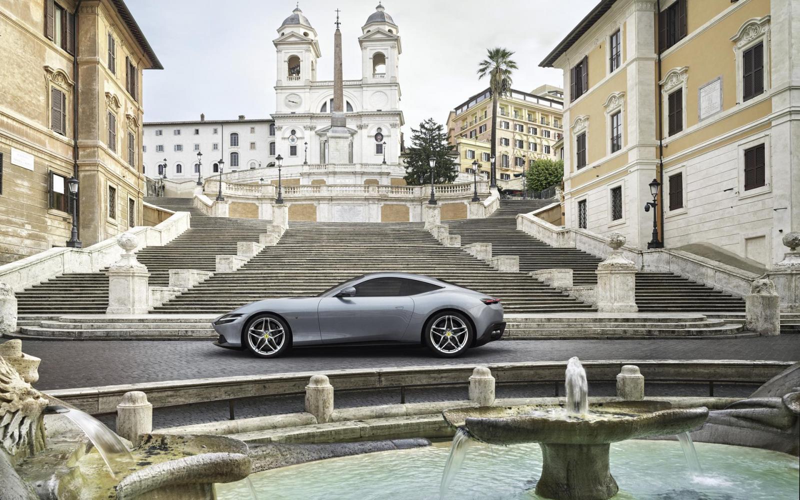Ferrari Roma: welkome terugkeer van de klassieke 'Bella Macchina'