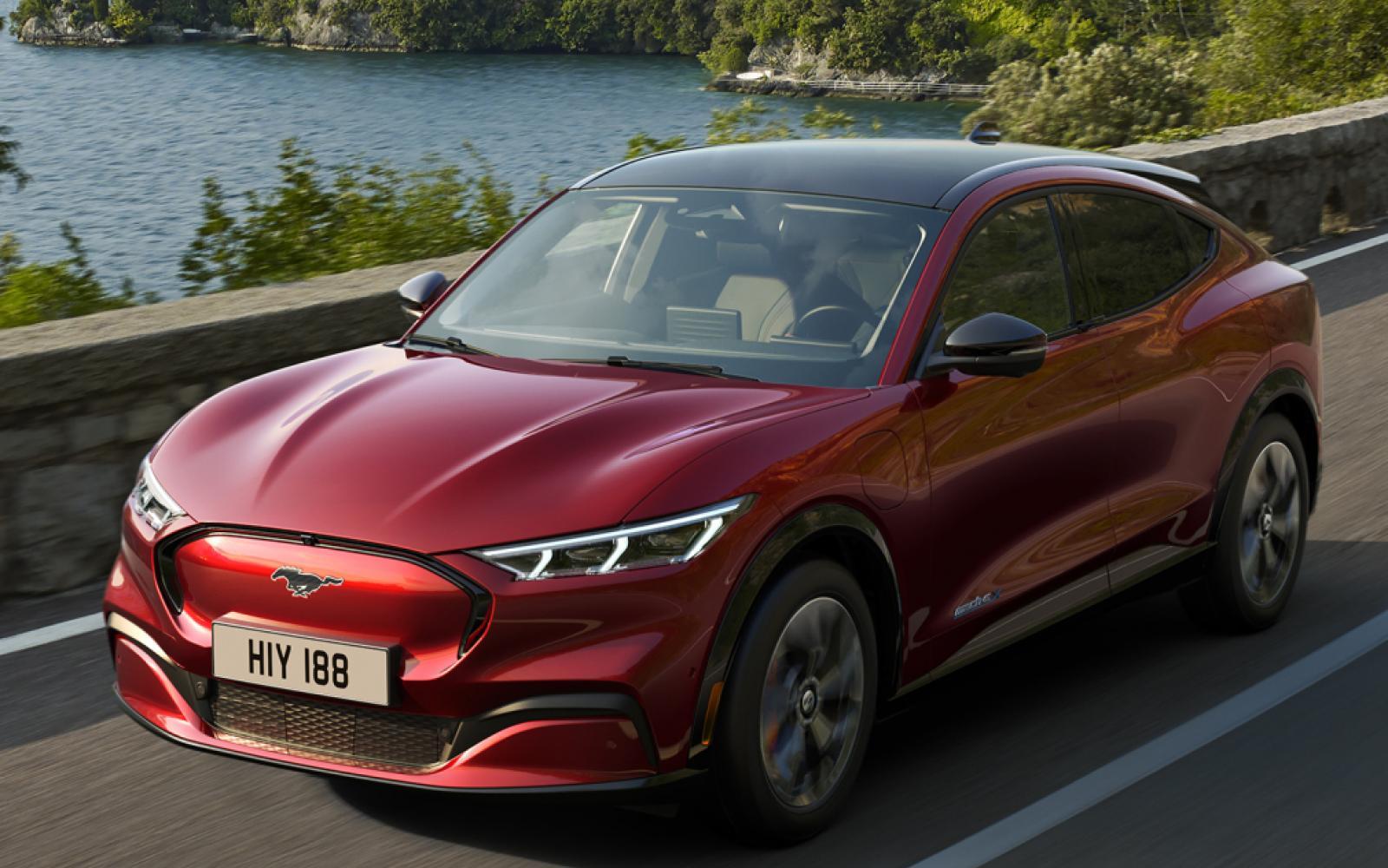 Elektrische Ford Mustang Mach-E blijft net onder de 50.000 euro