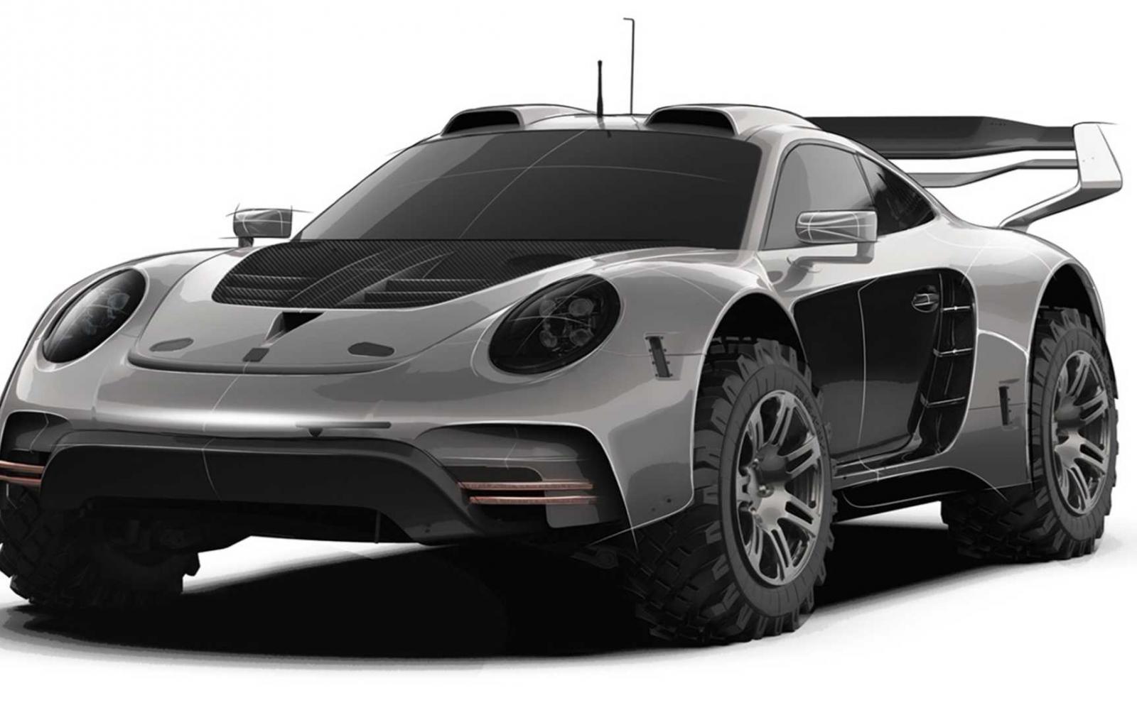 Ook Gemballa komt met een opgehoogde Porsche 911