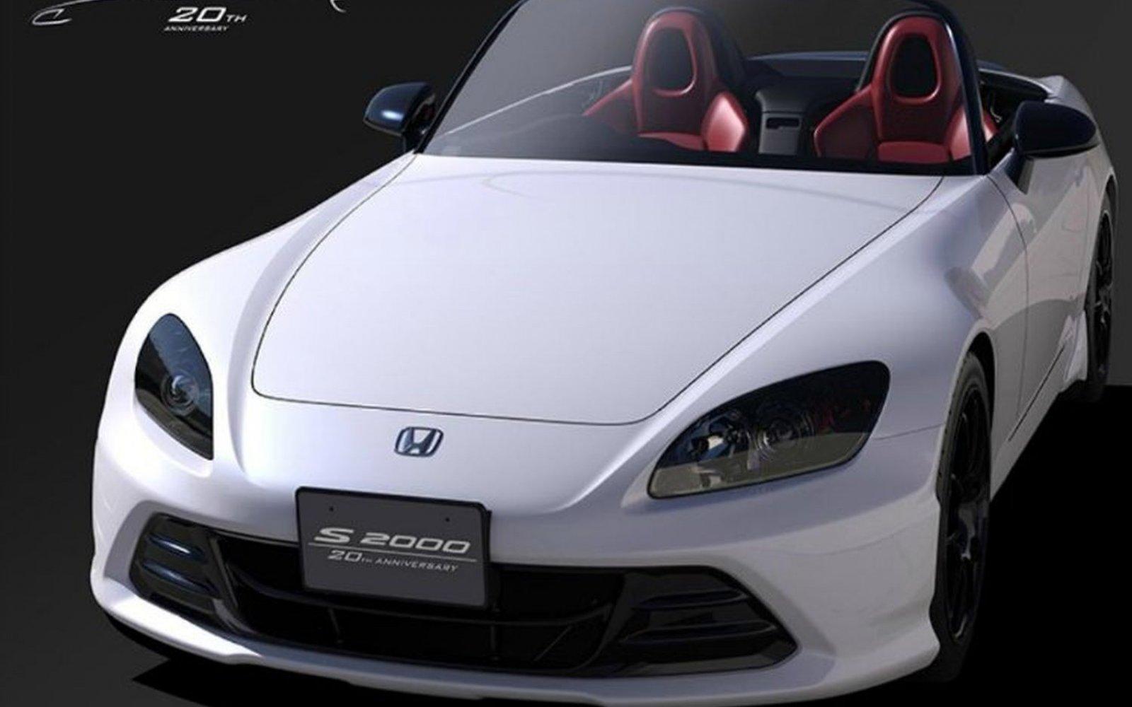 Honda viert twintig jaar S2000 met ... een S2000