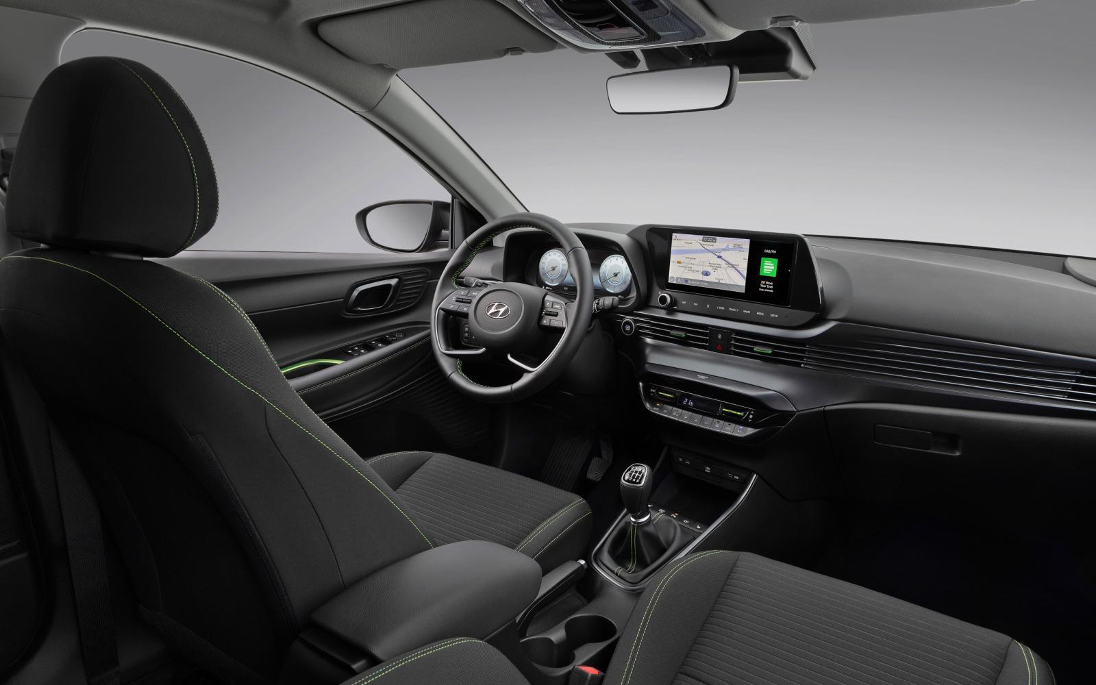 Hyundai i20 dashboard gaat er met sprongen op vooruit